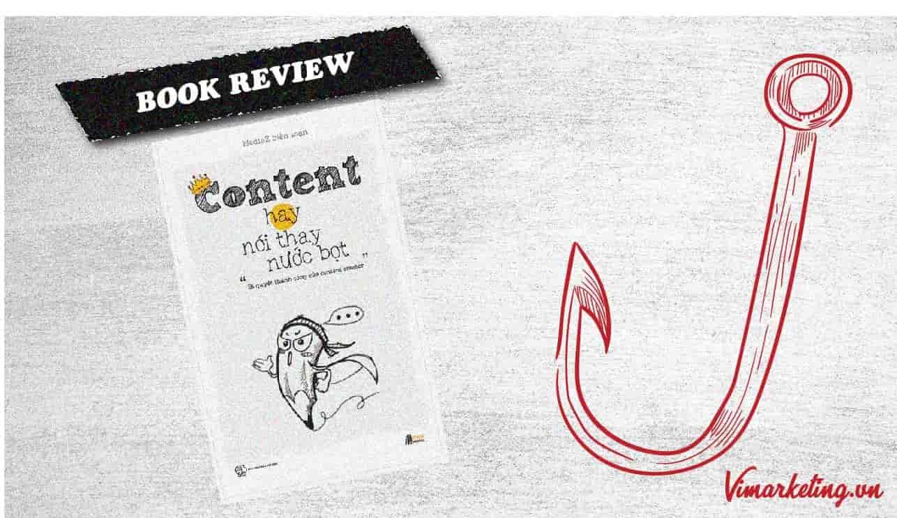 Review sách content hay nói thay nước bọt