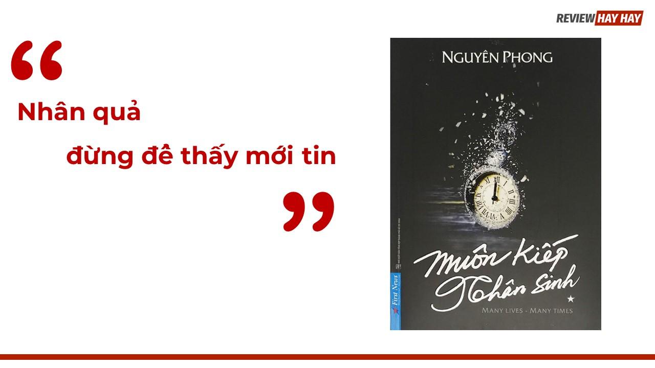 Review sách Muôn kiếp nhân sinh của tác giả Nguyên Phong