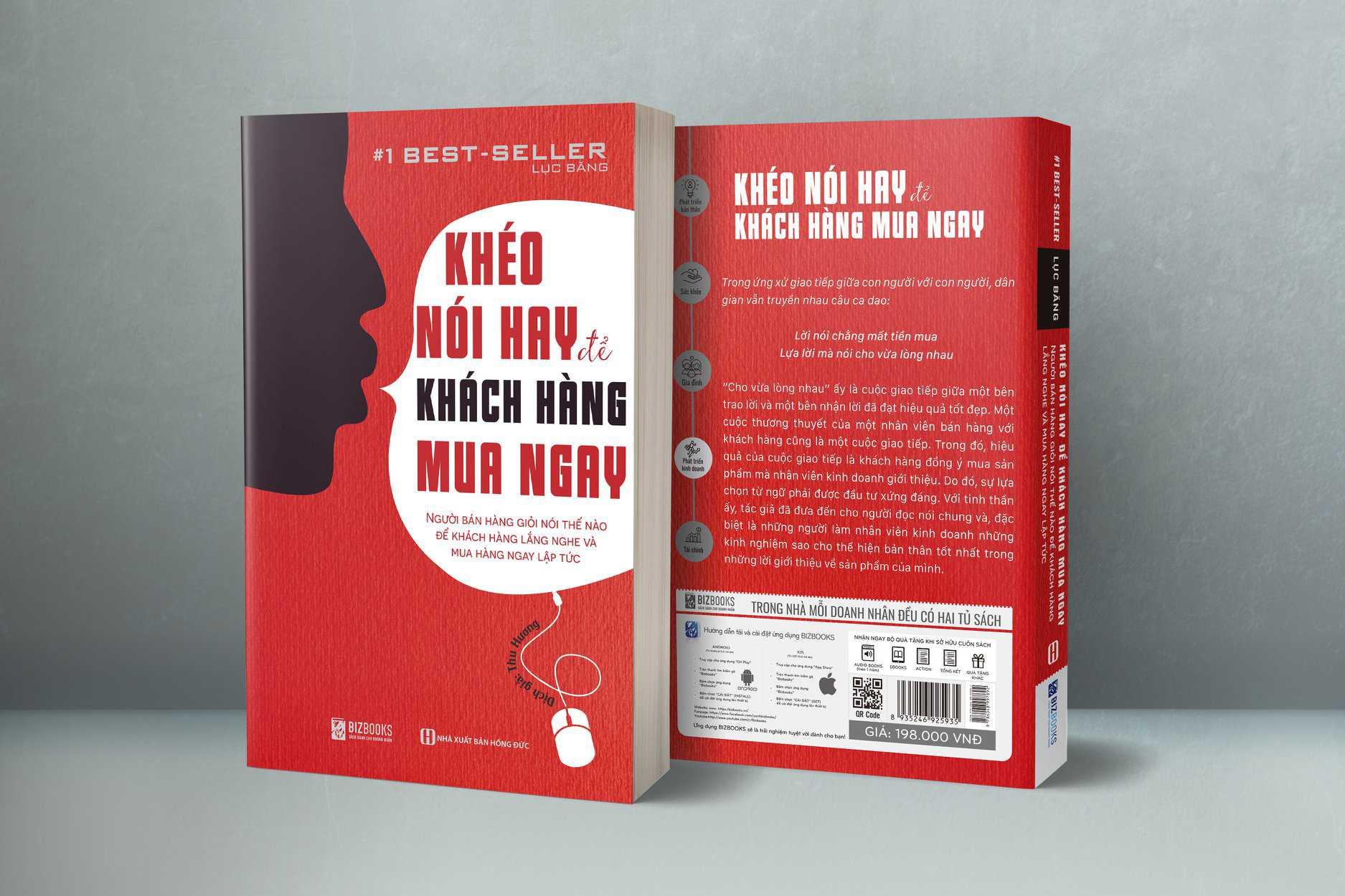 Review sách Khéo nói hay để khách hàng mua ngay
